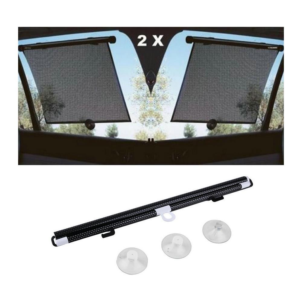 Tende Parasole Avvolgibili Per Auto.Takestop Set 2 Pezzi Tendina Tenda Parasole Tendine Alluminio