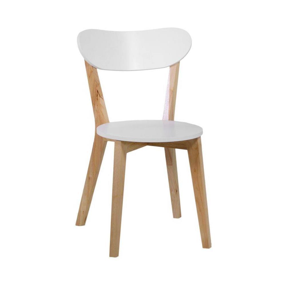 Vacchetti - Sedia in legno - set da 4 bianco - ePRICE
