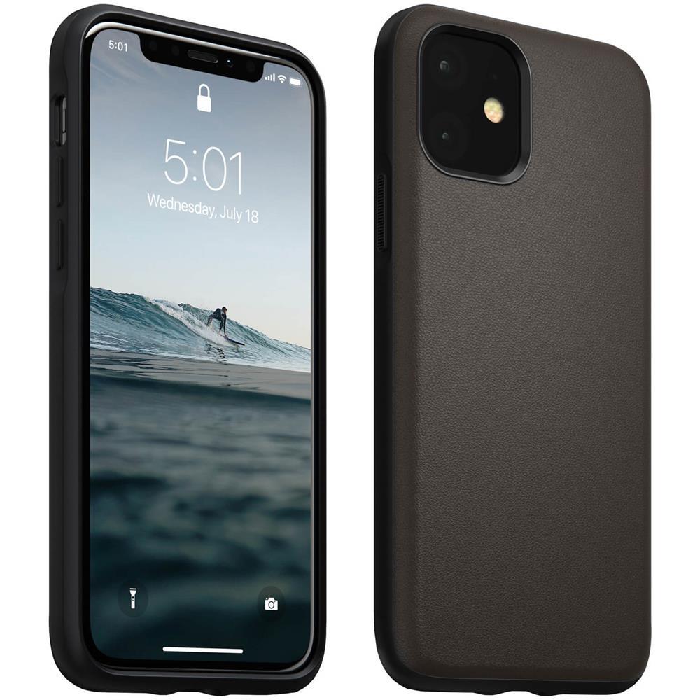 Avizar - Cover Iphone 11 Protezione Rigida 2 In 1 Batteria 6000mah