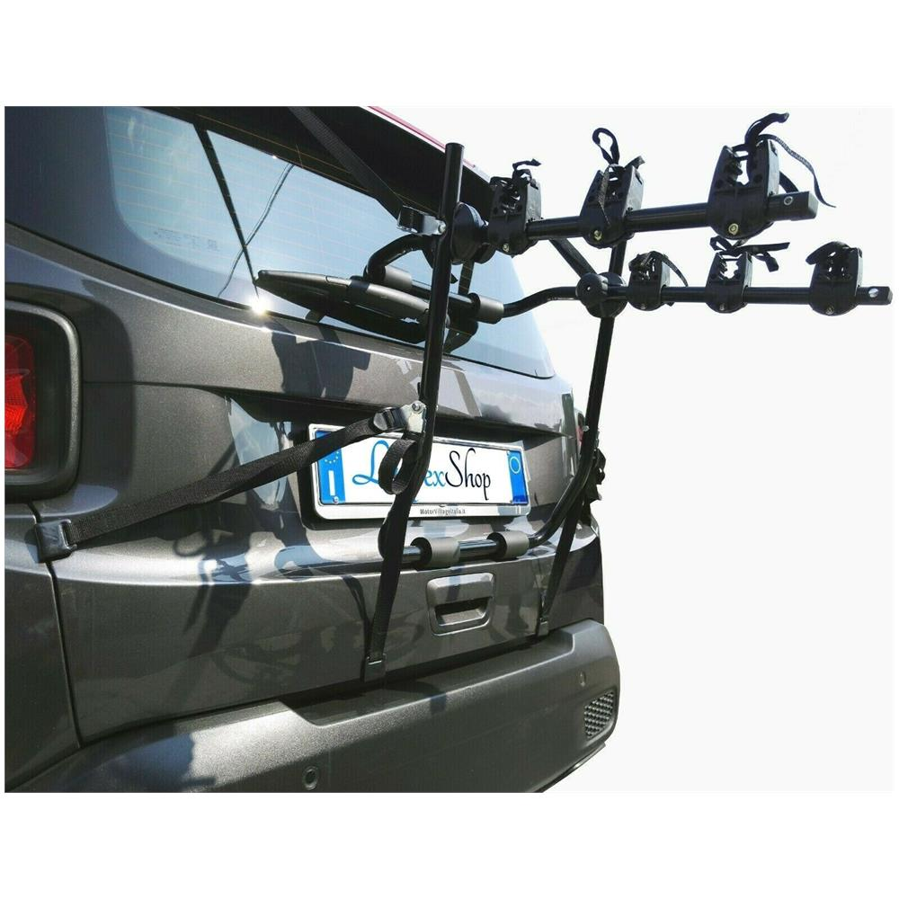 Lupex Shop - Portabici Universale Sportello Posteriore Da Auto Per