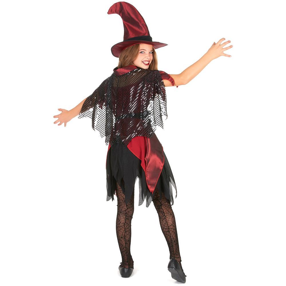 JADEO - Costume Da Strega Per Ragazza Ad Halloween 4 A 6 Anni - ePRICE 25e7916e7de5