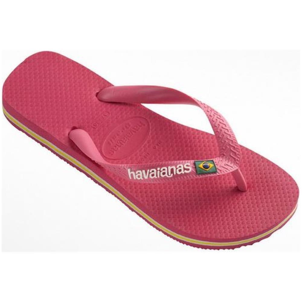 taglia 40 b6594 08ce2 Havaianas Infradito Donna Brasil Logo 43/44 Rosa