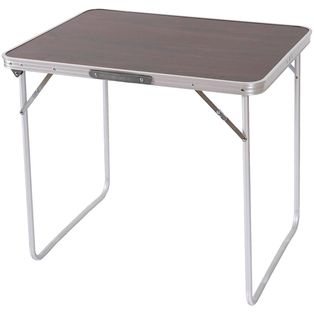 Tavolo Da Campeggio Richiudibile.Mendler Tavolino Da Campeggio Pieghevole T367 Alluminio Mdf