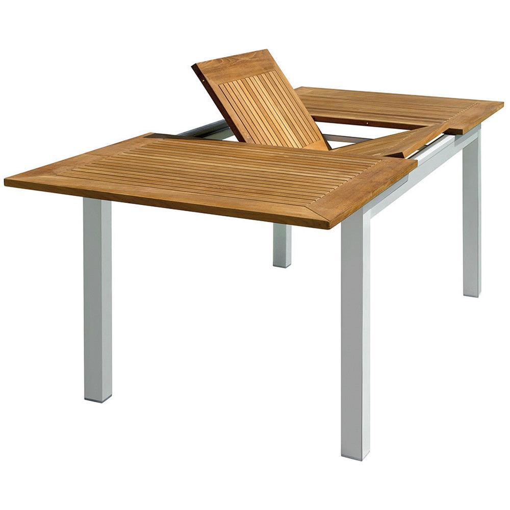 Tavolo Legno Allungabile Da Giardino.Gruppo Maruccia Tavolo Da Giardino Allungabile In Alluminio E
