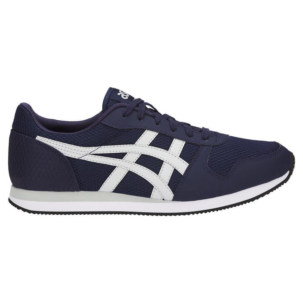 Asics Curreo II HN7A05896 blu marino scarpe basse