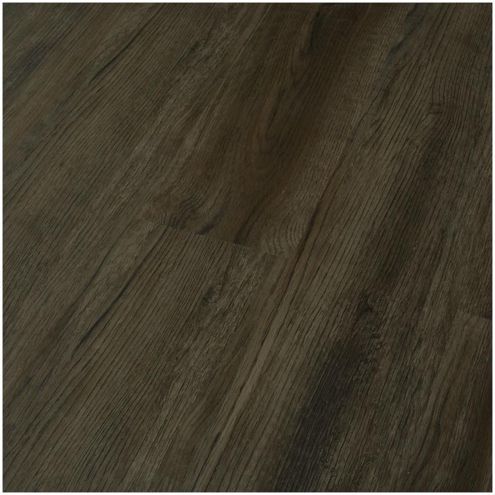 Pavimenti In Pvc Ad Incastro vidaxl listoni per pavimenti a incastro 3,51 m² 4 mm pvc marrone scuro