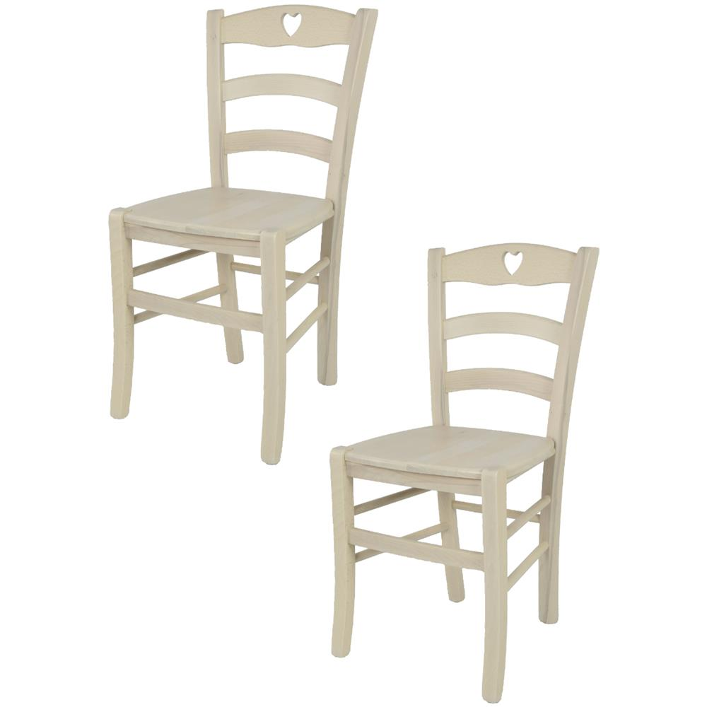 Tommychairs - Tommychairs Sedie Di Design - Set 2 Sedie Classiche ...