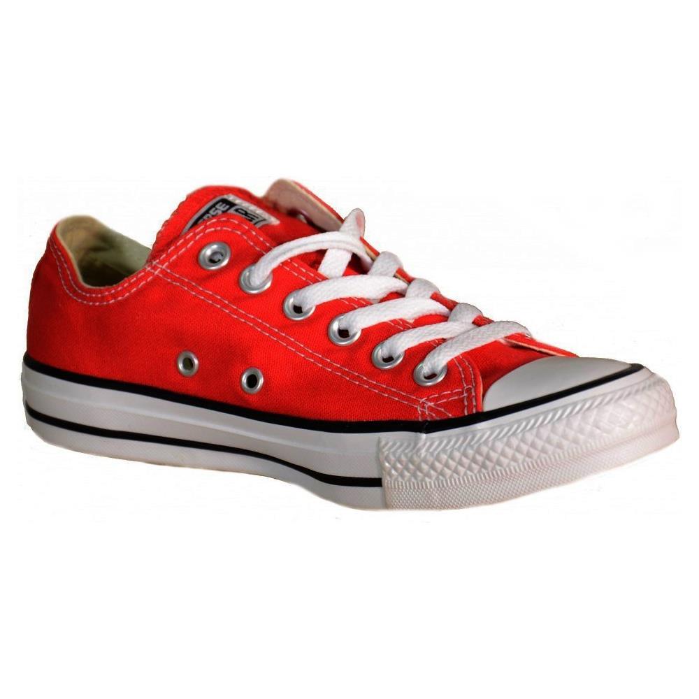 converse sneakers rosse
