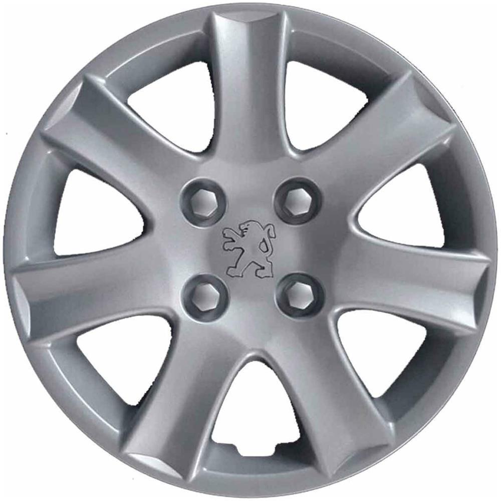 """DUEPPI AUTOPARTS - Set 4 Copricerchi Peugeot 206 Plus -14""""""""- Non"""