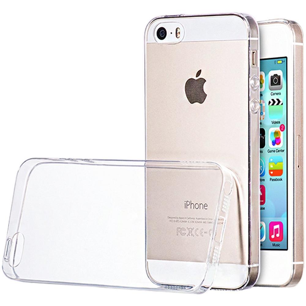 Custodia Iphone 5/5s Silicone Nuovo Morbido Cover Iphone 5/5s