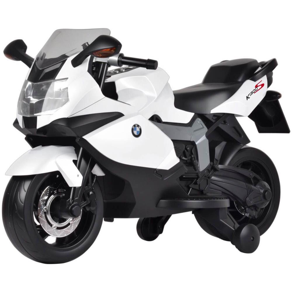 33c9274f91 BMW - Moto Elettrica Per Bambini 12v Bmw K1300s Bianca - ePRICE