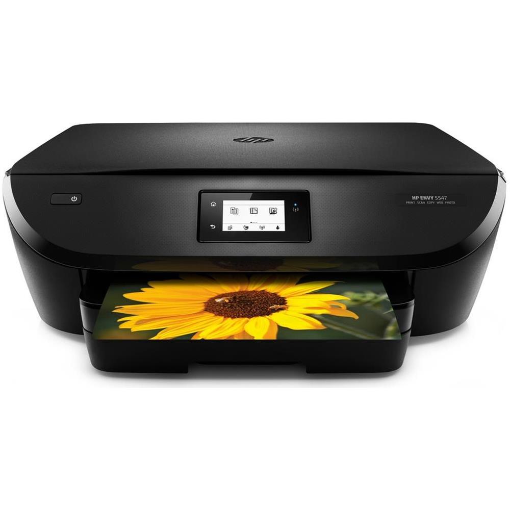 Hp Stampante Multifunzione Envy 5547 Inkjet A Colori Stampa Copia Scansione 8 Ppm A Colori 12 Ppm B N Wi Fi Usb 20