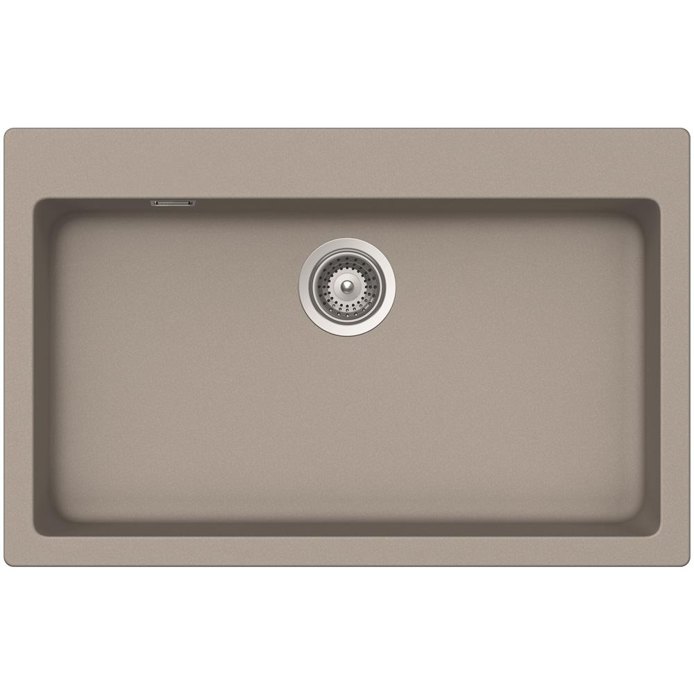 Lavello Cucina Incasso Fragranite 1 Vasca cm.79x50 Schock ...