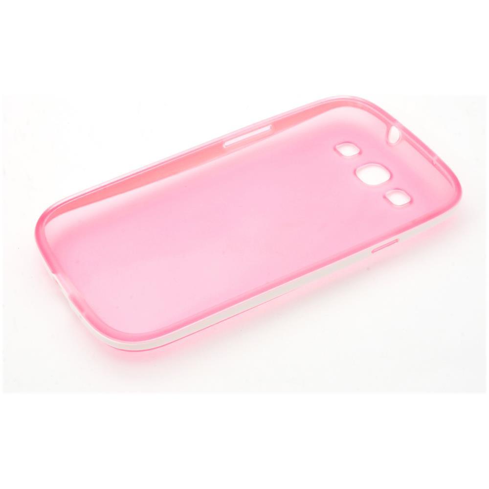 OEM Compatibile - Custodia Bumper Colore Celeste Per Samsung I9300