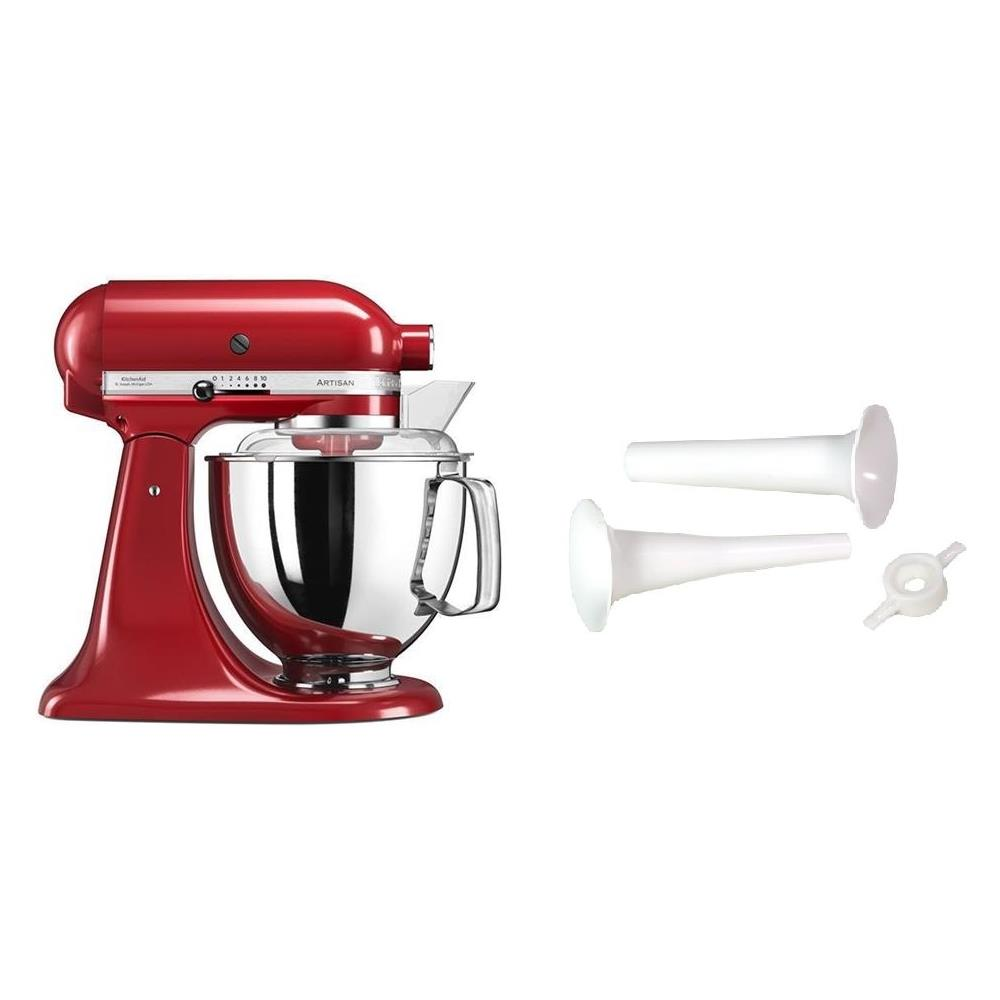 KITCHENAID - Robot da Cucina Artisan 5KSM175PSEER Colore Rosso ...
