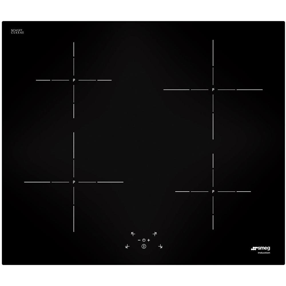 SMEG - Piano Cottura SI5642D a Induzione 4 Zone Cottura da 60 cm ...