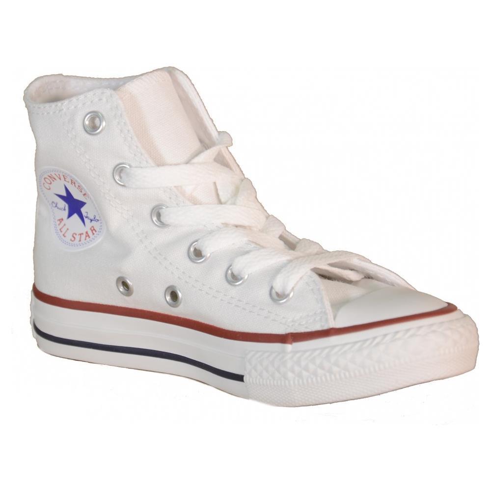 converse scarpe alte bianche