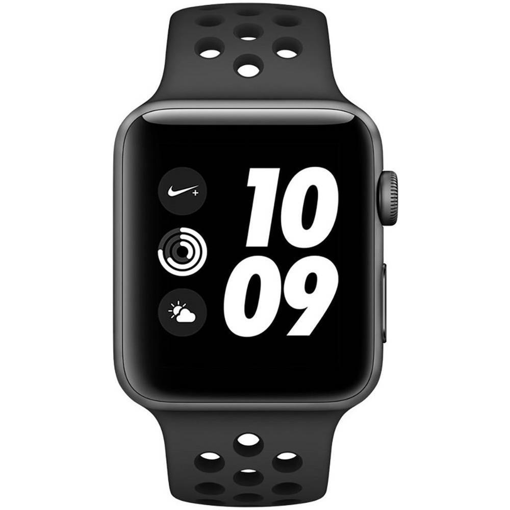 APPLE - Smartwatch Watch Nike +OLED Series 3 42MM Impermeabile 5ATM ... 87b284903476