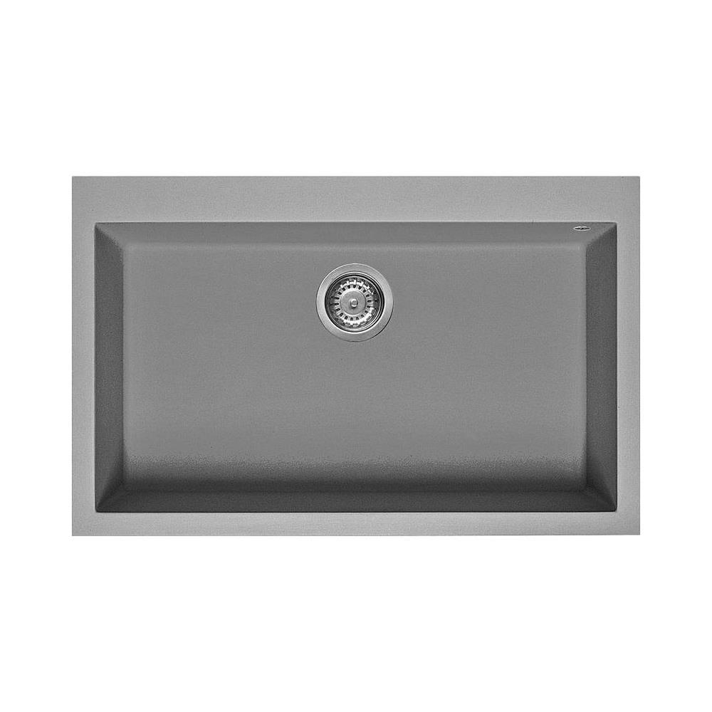 SMEG   Lavello Da Incasso 1 Vasca Dimensioni 72 X 40 Cm Colore Cemento    EPRICE