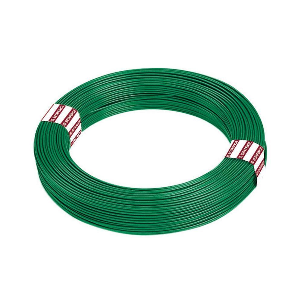 Filo Zincato rivestito Plasticato Cavatorta Verde Ø x L 1,5 mm x 100 mt