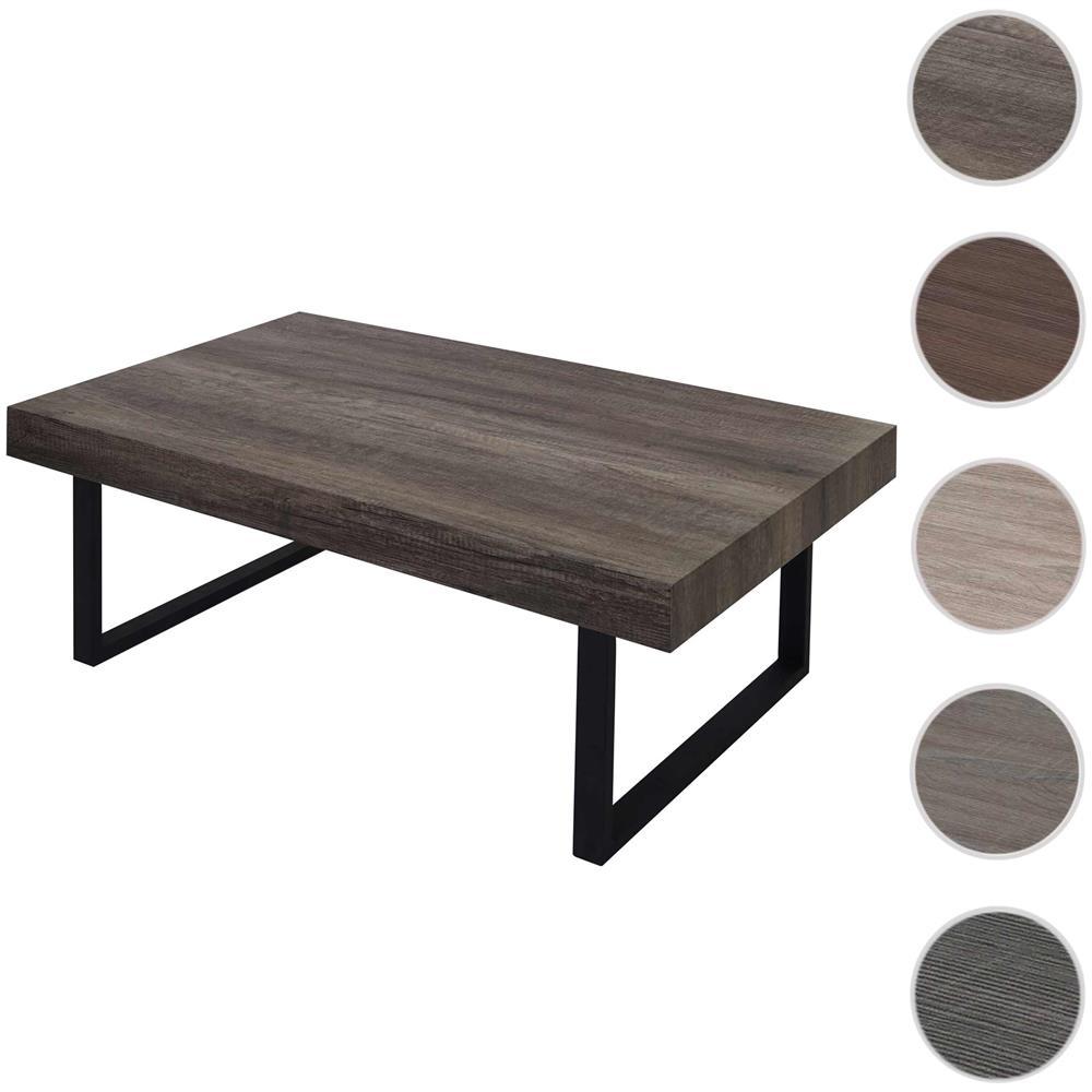 Mendler Tavolino Da Salotto Kos T576 Legno Di Pioppo Rivestito 60x110x40cm  Colore Rovere Naturale