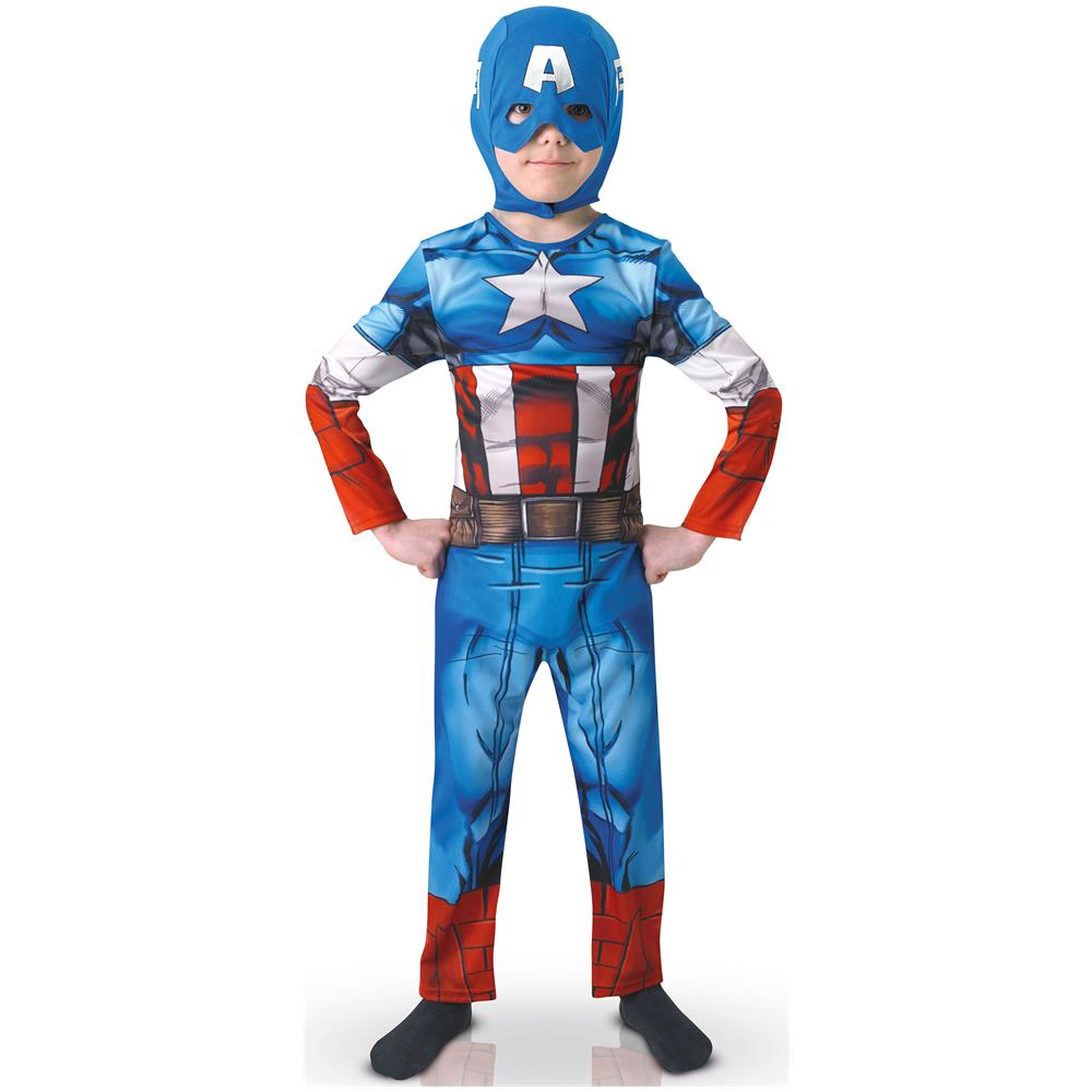 BCI Costume Da Capitan America Per Bambino The Avengers 7 A 8 Anni