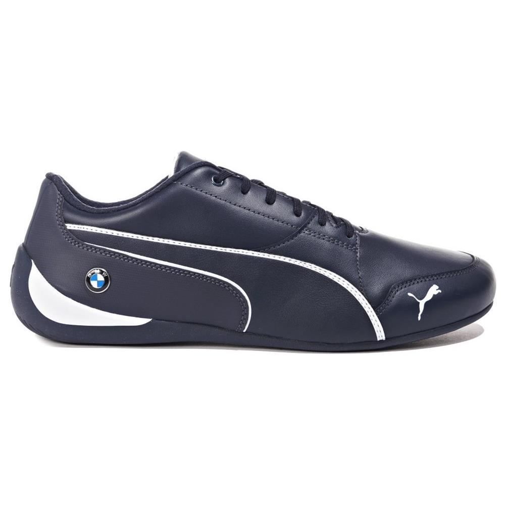 Puma Bmw MS Drift Cat 7 30598601 blu marino scarpe basse
