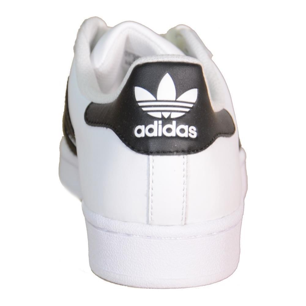 adidas bianche e nere superstar j