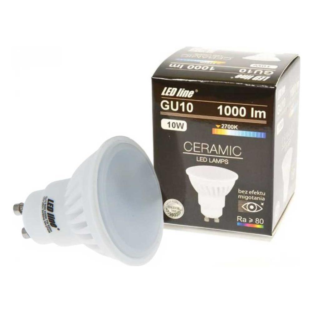Faretti Led 2700k.Led Line Faretti Led Gu10 10w Smd Ceramica High Lumen Spot Light Luce Calda 2700k Led Line 248580