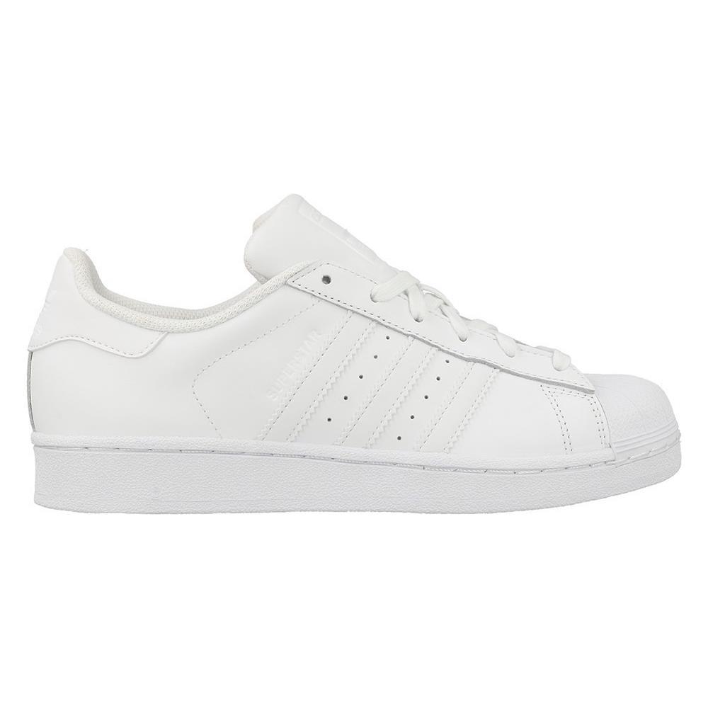 save off 3242f 30b7e Adidas Superstar Foundation J Scarpe Sportive Donna Bianche Pelle Lacci  B23641 36. Venduto e spedito da NENCINI SPORT