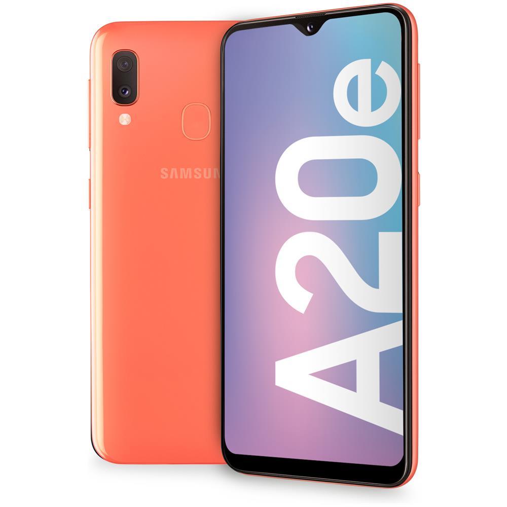 """SAMSUNG - Galaxy A20e Corallo 32 GB 4G / LTE Dual Sim Display 5.8"""" HD Slot  Micro SD Fotocamera 13 Mpx Android Italia - ePRICE"""
