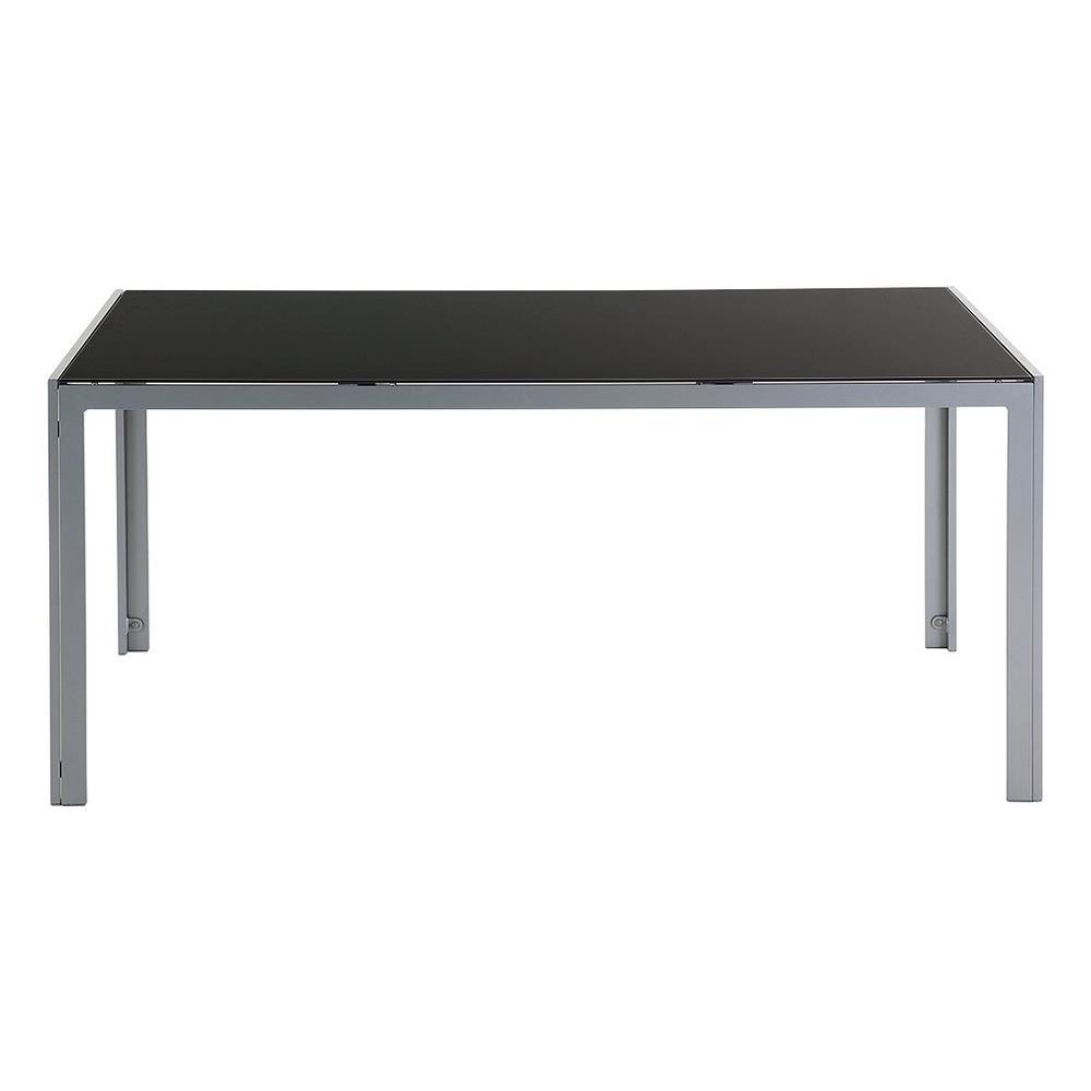 Tavoli Da Giardino Catania.Beliani Tavolo Da Giardino In Alluminio Piano In Vetro Catania