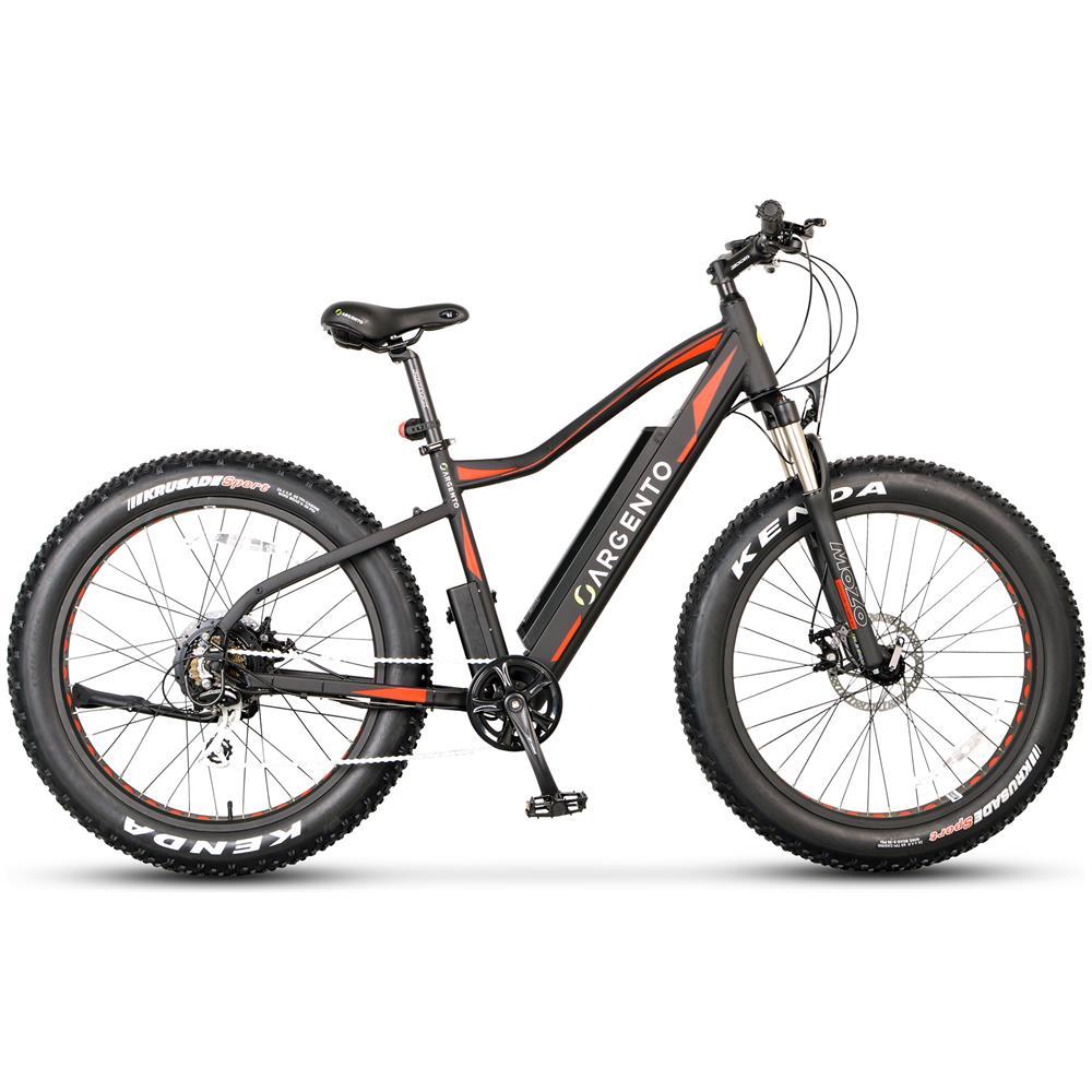Argento Bike Fat Bike Bicicletta Elettrica A Pedalata Assistita 26