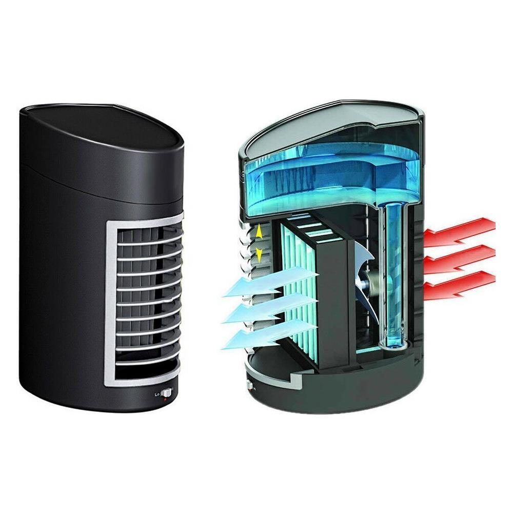 Come Funziona Un Condizionatore Ad Acqua.Arcamania Air Cooler Ventilatore Portatile Mini Condizionatore Ad Acqua Filtro Aria