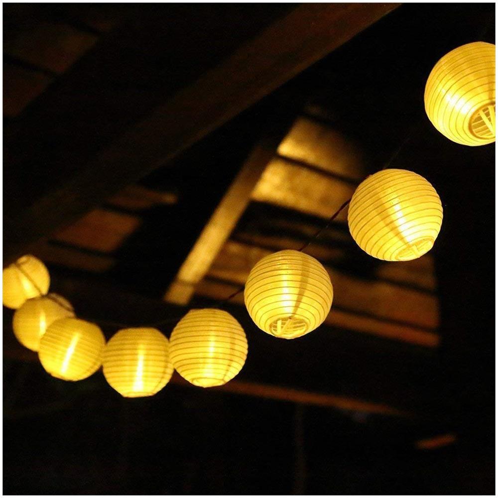 Catena Luminosa Per Foto salcar luci led per 40er lanterna 10m + cavo di alimentazione 3m  alimentatore di sicurezza 31v led catena luminosa