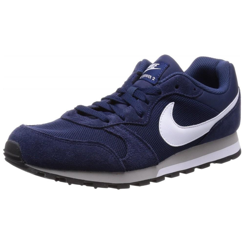 Nike Md Runner 2 Scarpe Sportive Uomo Blu Tela 749794 410 40,5