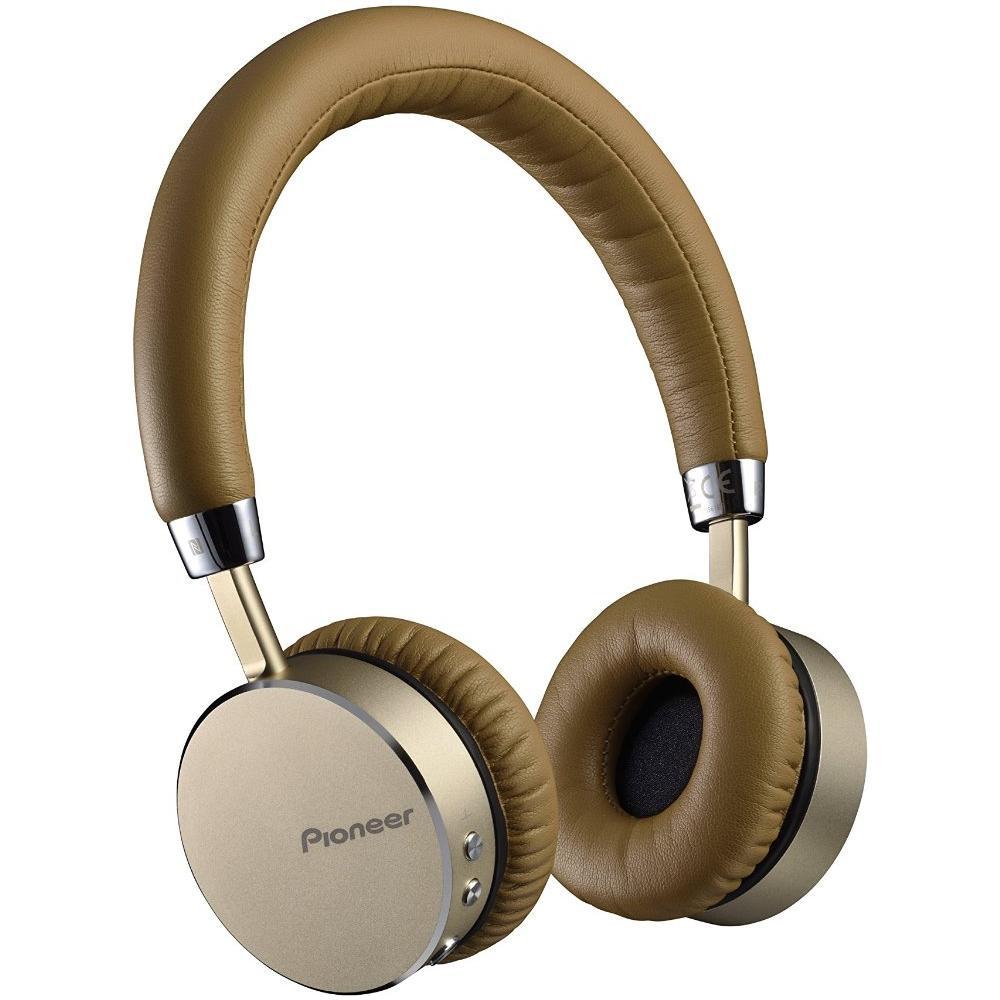PIONEER - Cuffia Bluetooth con Tecnologia NFC e Microfono Integrato  Champagne - ePRICE 4c6c00786682