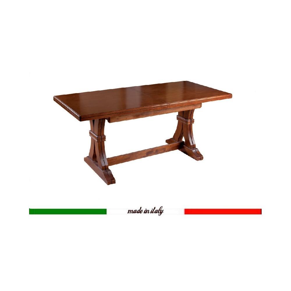 Tavoli Allungabili In Legno Arte Povera.Gt Arredi Tavolo Da Pranzo Allungabile In Legno Cm 180 360x100