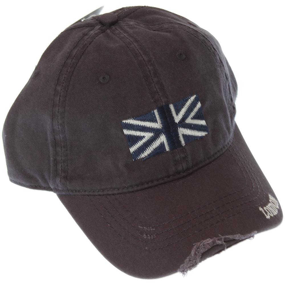 Universal Textiles Cappellino Bandiera Inglese 100% Cotone (taglia Unica)  (blu Navy). Zoom 9e7c62ff1359