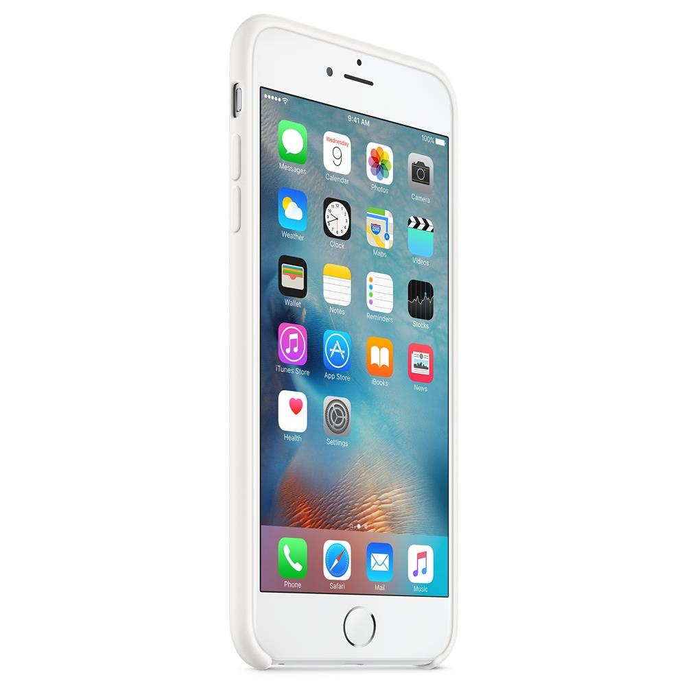 Custodia in silicone per iPhone 6s Plus - Bianco - Apple (IT)