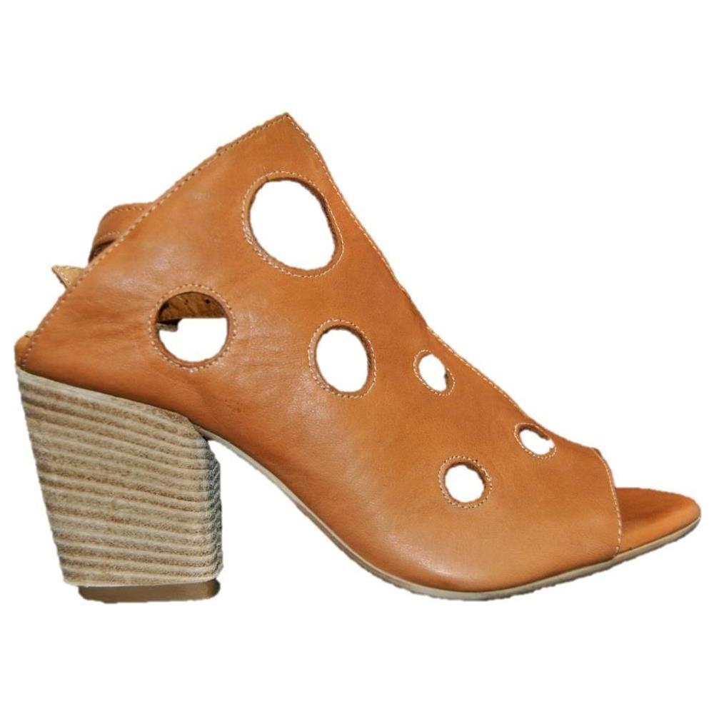 Marrone Sandalo In Donna Tacco 37 Eprice Cuoio Bueno Pelle 9l3704 hQBsxorCtd