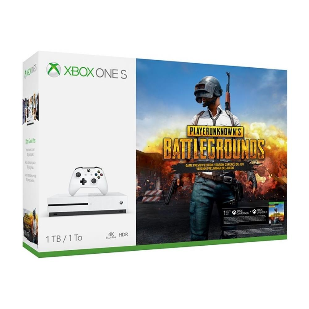 Console Xbox One S 1 Tb + PlayerUnknown's Battlegrounds