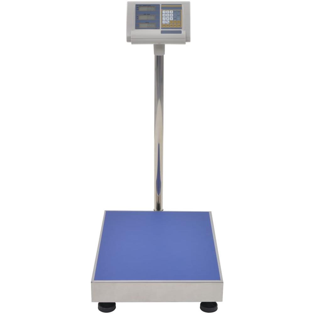 VIDAXL Bilancia Digitale A Piattaforma 300 Kg Con Batteria Ricaricabile