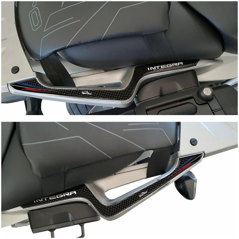 Adesivi Resin3d Protezione Maniglie Compatibili Per Honda Integra