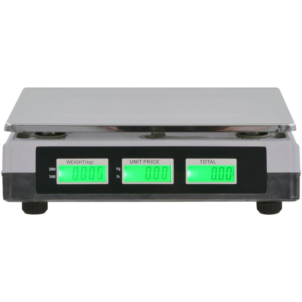 VIDAXL Bilancia Digitale 30 Kg Con Batteria Ricaricabile