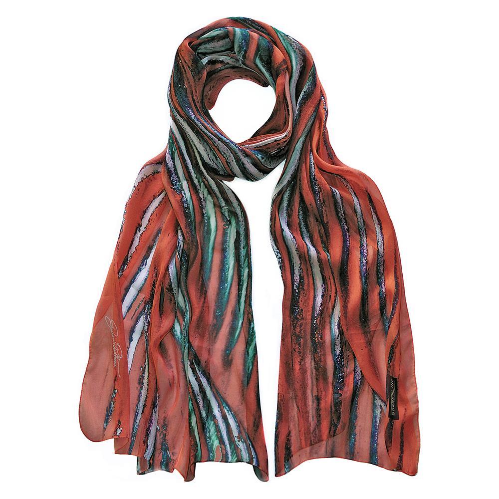 243b29614d Borderline Collection - Sciarpa Donna In Pura Seta Metal Scarf - ePRICE