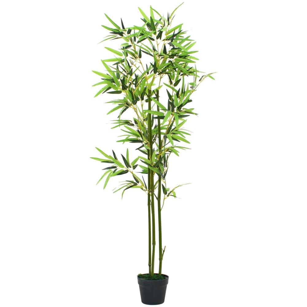 Vendita Piante Bambu Milano.Vidaxl Pianta Di Bambu Artificiale Con Vaso 150 Cm Verde Eprice