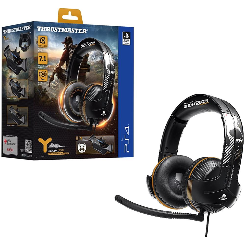 Cuffie Gaming Headset TM Y350P con Microfono Powered Ghost Recon Wildlands Special Limited per PS4
