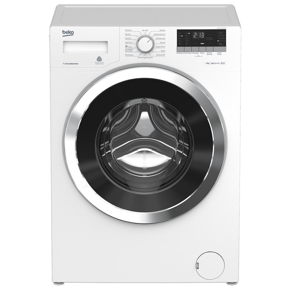 Beko lavatrice standard wtv8633xc0 superia prosmart for Lavatrice 8 kg offerta