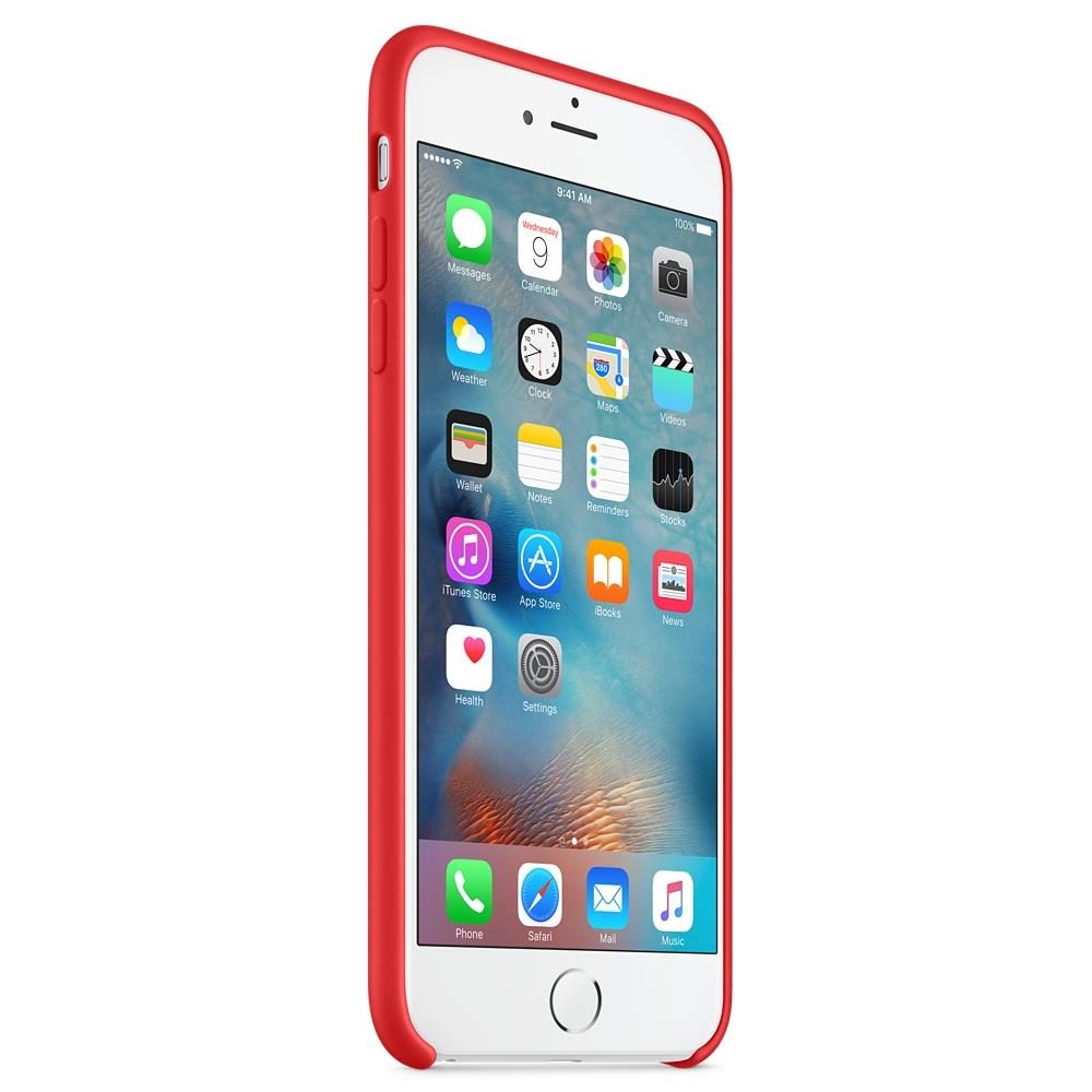custodia silicone iphone 6s plus apple